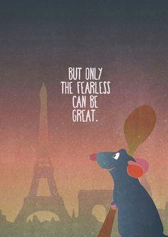 Ratatouille - Disney Inspirational quote