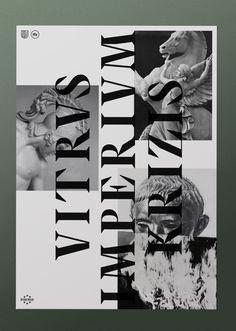 EVROPA poster 3 / 3.Typography & graphic by Studio Jimbo. 2014.