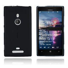 GelCase (Sort) Nokia Lumia 925 Deksel