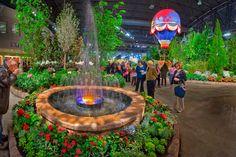 Philadelphia International Flower Show, 2012 Theme: Islands of Aloha