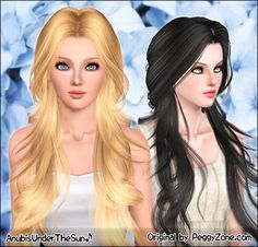 Anubis Under The Sun ♪: Peggy August '12 Special Gift ~ Retextured and fixed for teen-to-elder