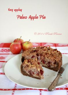 Paleoliscious: Paleo. Healthy. Delicious.: Very Appley Apple Pie (paleo, gluten/sugar/diary free!)