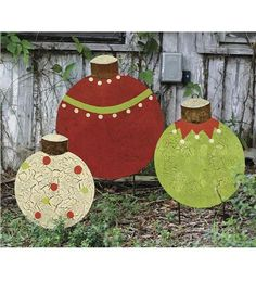 Unique Christmas Yard Art | Home > Holiday Shop > Outdoor Holiday Decorations > Metal Christmas ...