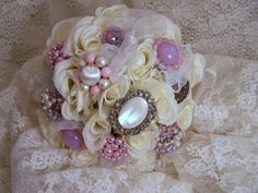 roses, jewelry and lace!