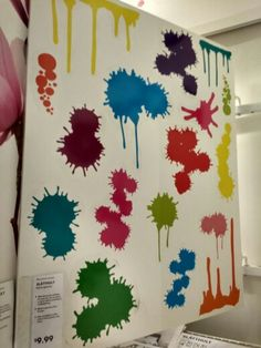 Saw these at Ikea - perfect for your Splatoon themed room #Splatoon #kidorsquid
