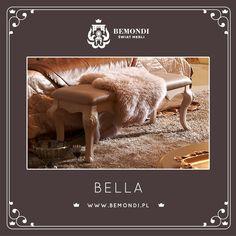 Niezwykła ławka z serii Bella.
