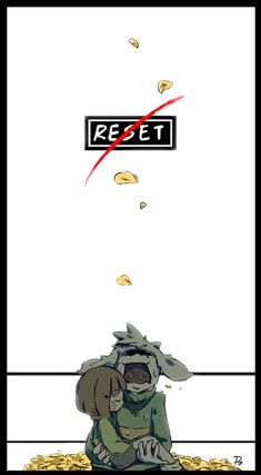 #Undertale #No Reset by Puripri.deviantart.com on @DeviantArt