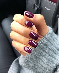 Looking for easy nail art ideas for short nails? Look no further here are are quick and easy nail art ideas for short nails. Cute Nails, Pretty Nails, Hair And Nails, My Nails, Red Gel Nails, Nails Gelish, Shellac, Manicure Y Pedicure, Pedicures