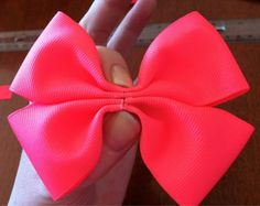 DIY Hair Bow | eat drink eat