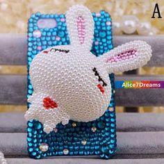 Rabbit  iPhone 5S CaseiPhone 5S Rabbit  iPhone 5 by Alice7Dreams