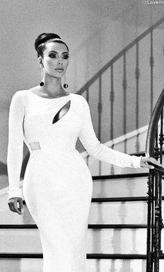 Elegant Kim Kardashian