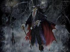 Eu fico no portão do meu cemitério / Presto conta e peço conta na entrada do Inferno / Seu Tata mora no portão / Seu Tata mora na porteira / Ele é dono da Calunga / ele é Tata Caveira!!!