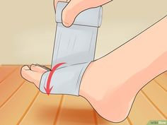 Image titled Wrap an Ankle Step 2