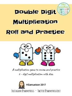 Use this quick and easy to explain game to help your students partner up for practice and review of Double Digit Multiplication strategies.
