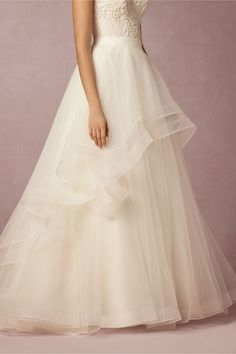 Almira Skirt By WTOO by Watters (Style: 37596848), $810 at BHLDN