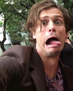 😂😂 - [#matthewgraygubler #spencerreid #criminalminds]