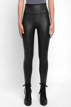 5b2ff4113146b5 Spanx Faux Leather Leggings - Spankx, Faux Leather, Leggins, Winter Style -  Spanx