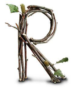 """R"" royalty-free ""Stick"" alphabet Brush Lettering, Lettering Design, Hand Lettering, Alphabet Art, Letter Art, Alphabet Photos, Agnus Day, Stick Letters, Mahal Kita"