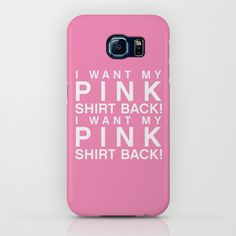 I Want My Pink Shirt Back - Mean Girls movie iPhone & iPod Case