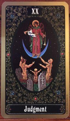 The Russian Tarot of St Petersburg - Judgement.