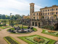 Osborne House, East Cowes, Isle of Wight Chester Cathedral, Medieval, English Castles, Royal Residence, England Fashion, Formal Gardens, Victorian Architecture, Going On Holiday, United Kingdom