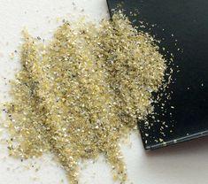 Yellow Diamond Dust 1 CTW Yellow Diamond Uncut by gemsforjewels