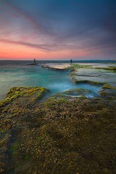 Palmachim Beach ~ Rishon LeZiyyon, Israel [photo by Amnon Eichelberg, Ness Ziona, Israel]....