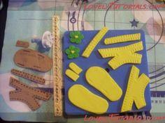 детские сандалики, пинетки, туфельки, сапожки, трафареты|gumpaste baby shoes tutorials,baby booties,templates - Мастер-классы по украшению тортов Cake Decorating Tutorials (How To's) Tortas Paso a Paso