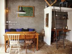 Cafe Design, House Design, Small Restaurants, Coffee Places, Natural Interior, Cafe Style, Interior Decorating, Interior Design, Cafe Interior