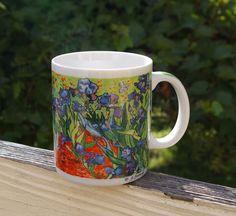 Chaleur Master Impressionists Coffee Mug Vincent Van Gogh D. Burrows Flower Beds    eBay