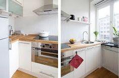 Home decoration kitchen White Kitchen Interior, White Interior Design, Interior Design Kitchen, Kitchen Designs, Kitchen Dining, Kitchen Decor, Kitchen Cabinets, Dining Rooms, Kitchen Ideas