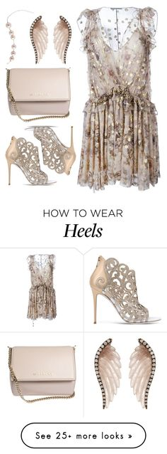 """Heels in Heaven"" by cb-hula on Polyvore featuring Chloé, René Caovilla, Givenchy and Noor Fares"