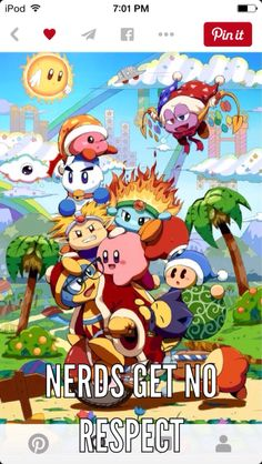A depiction of how much every Kirby character annoys King DDD