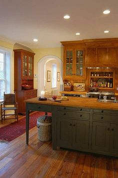 Workshops of David T. Smith - Custom Kitchens ~www.davidtsmith.com