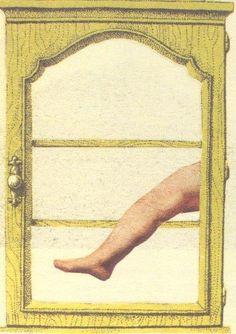 Collage Postcard by Wislawa Szymborska (to Boguslawy Latawiec & Edwarda Balcerzana, undated)