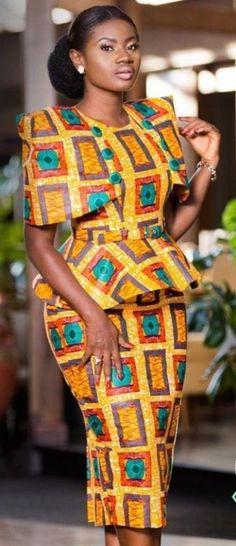 515 meilleures images du tableau ensemble pagne en 2019 | African Fashion, African attire et ...