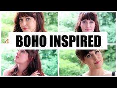 3 BOHO INSPIRED FRISUREN I TUTORIAL - YouTube