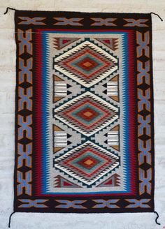 2095-Teec Nos Pos Navajo Rug