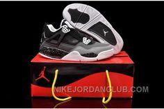 http://www.nikejordanclub.com/nike-air-jordan-4-womens-black-grey-shoes-rr3zy.html NIKE AIR JORDAN 4 WOMENS BLACK GREY SHOES DM2ZJ Only $84.00 , Free Shipping!