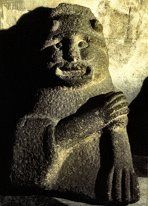 Thought to be a depiction of the Irish smith-god Nuadu, who was king of the Tuatha De Danaan (I think of him like Elrond. I hope I spelled that right too, Gaelic is hard !).