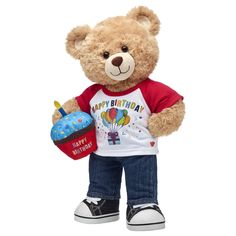 Give the perfect birthday gift at Build-A-Bear Workshop®! Wish them the happiest of days with a toy from our Happy Birthday stuffed animals collection. Birthday Gifts For Boys, Boy Birthday, Happy Birthday, Blue Frosting, Build A Bear, Birthday Cupcakes, Black Canvas, Gift For Lover, Pet Shop
