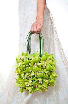 Orchids purse