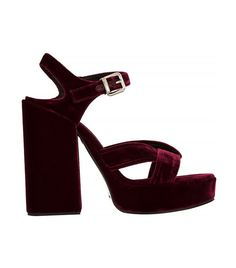 i'd totally wear these | jil sander velvet platform sandals | but i'm not spending this kinda cash on shoes no more