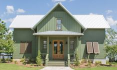 Looking for the best house plans? Check out the Evergreen Cottage plan from Southern Living. Porch House Plans, Lake House Plans, Small House Plans, House Floor Plans, Cabin Plans With Loft, House Plan With Loft, Three Bedroom House Plan, 3 Bedroom House, Master Bedroom