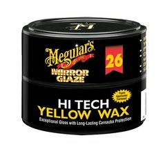 Meguiars Hi Tech Yellow Canauba Wax sorgt für ultimativen Hochglanz: Amazon.de: Auto