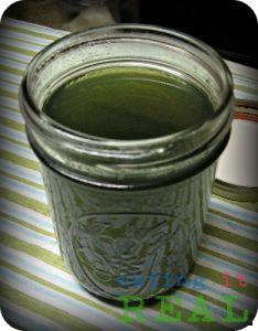 Homemade Stevia Syrup - Eating It REAL