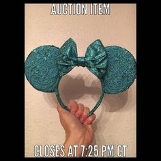"""1. OPENING BID $10  2. All sales final- no refunds or exchanges.  3. Promo codes cannot be combine with sale price.  4. Highest final bid before item closing will """"win"""" the item.  5. All claimed items must be paid for in 24 hours via Etsy. Once the sale has ended I will contact everyone who has claimed an item via IG direct message with a payment link. Ears will be shipped Nov 11th.  If you have any questions please comment below and I will do my best to answer them before the sale.  Thank…"""
