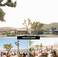 Rim Rock Ranch Wedding | Coolest Wedding Venues in the US