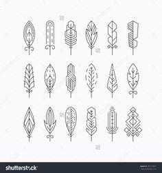Ideas For Tattoo Geometric Lines Illustration Graphic Design Geometric Lines, Geometric Designs, Geometric Line Tattoo, Small Tattoos, Cool Tattoos, Tape Art, Quilt Modernen, Line Illustration, Line Design