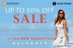 Get the best of coupons and offers- Upto 50% OFF from #Styletread #Offers #coupons #Offers #Paylesser Why pay more?